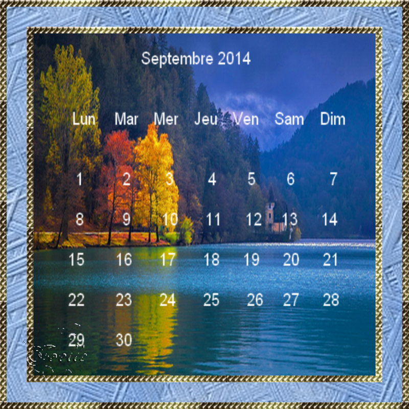 CALENDRIERS ORIGINAUX DES MOIS DE L ANNEE PAR ORDRE ALPHABETIQUE - Page 22 Calendrier-septembre-blog-bleu
